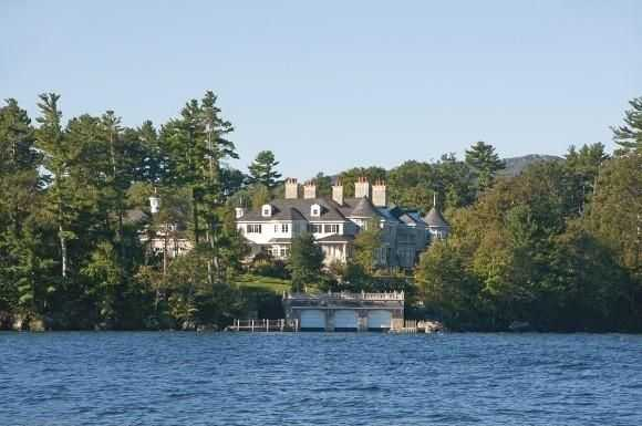The properties are located on over 16 acres of land and include 1,500 feet of water frontage.