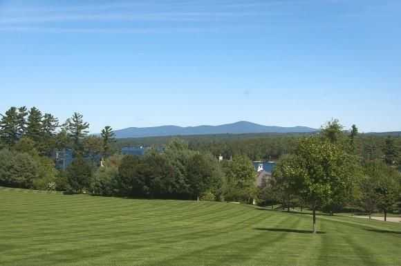 In addition to beautiful views of the lake you can also take in the sights of the White Mountains which can be seen in the distance from each mansion.