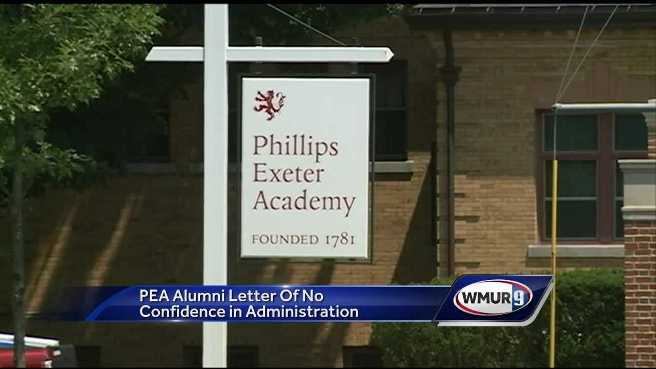 Nearly 1,000 alumni of Phillips Exeter Academy are pledging to withhold their support from the prestigious prep school, saying the administration is mishandling sexual assault allegations.
