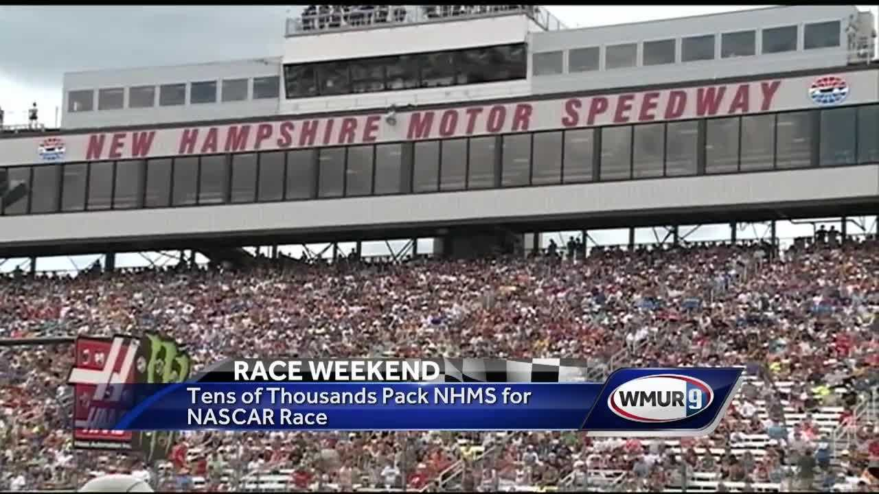Drivers Sped Around The Track For The New Hampshire