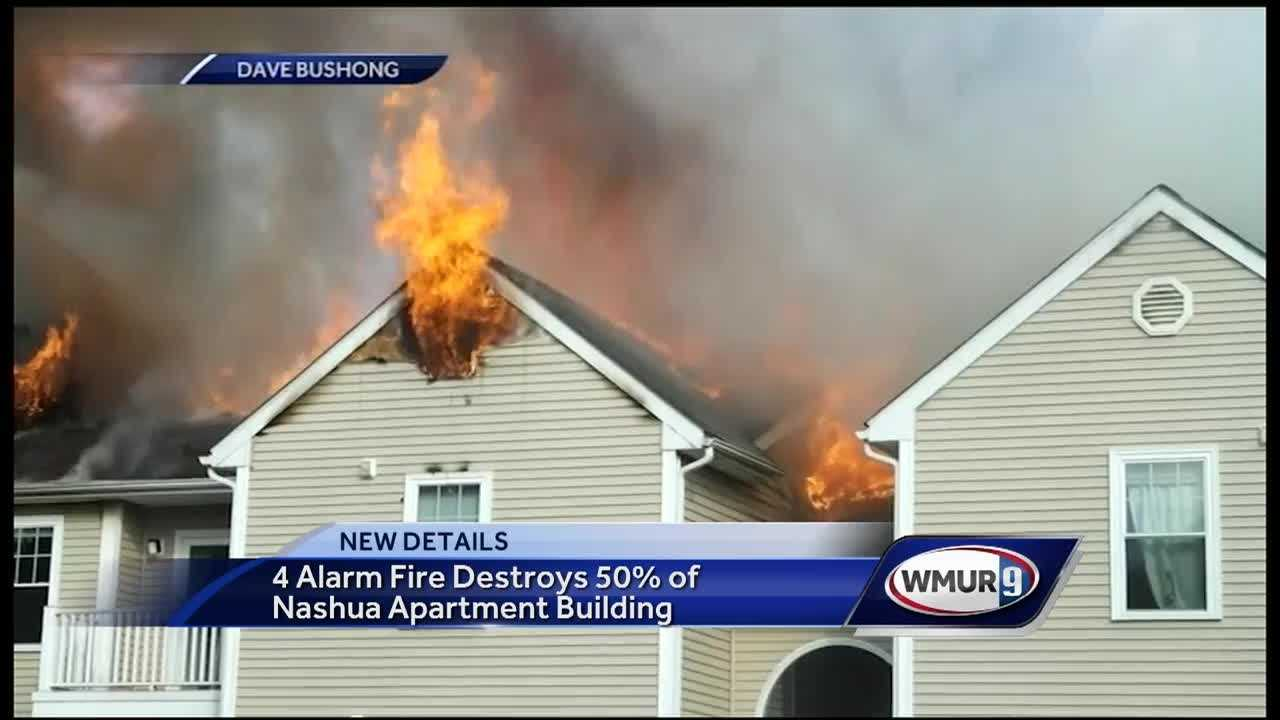 Dozens of people displaced after fire in Nashua