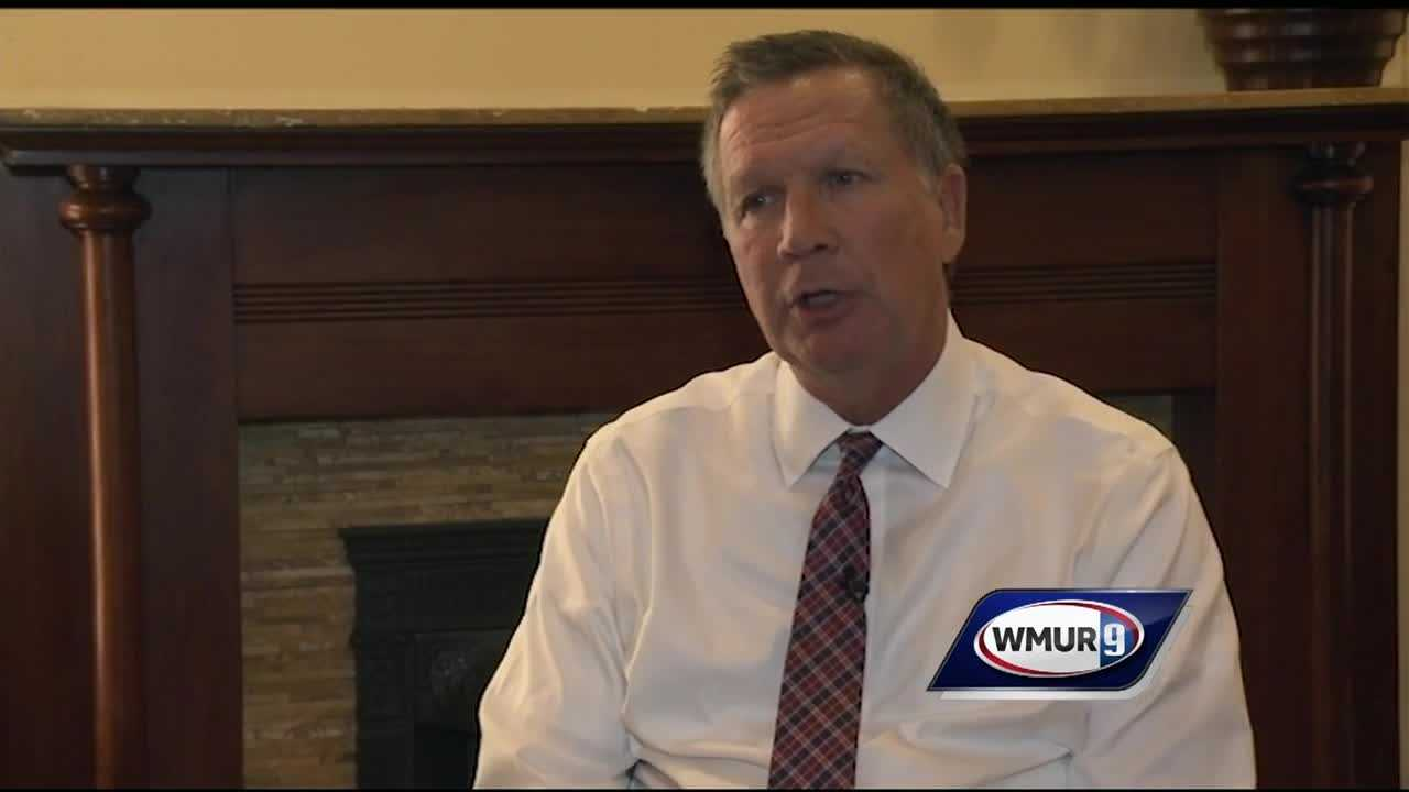 "Ohio Gov. John Kasich said Wednesday that Republican presidential nominee Donald Trump has ""fundamentally distorted"" the party's ideas."