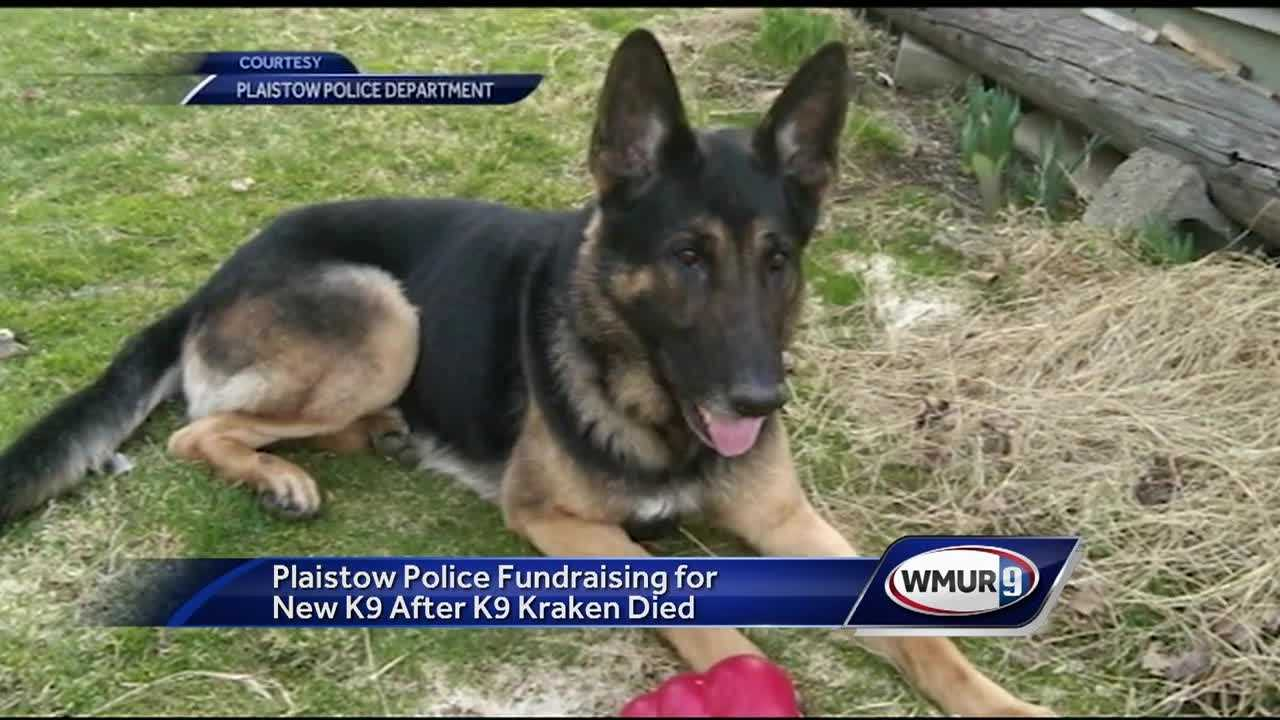 Plaistow police are asking for the public's help to buy and train a new police dog after a beloved member of their team passed away.