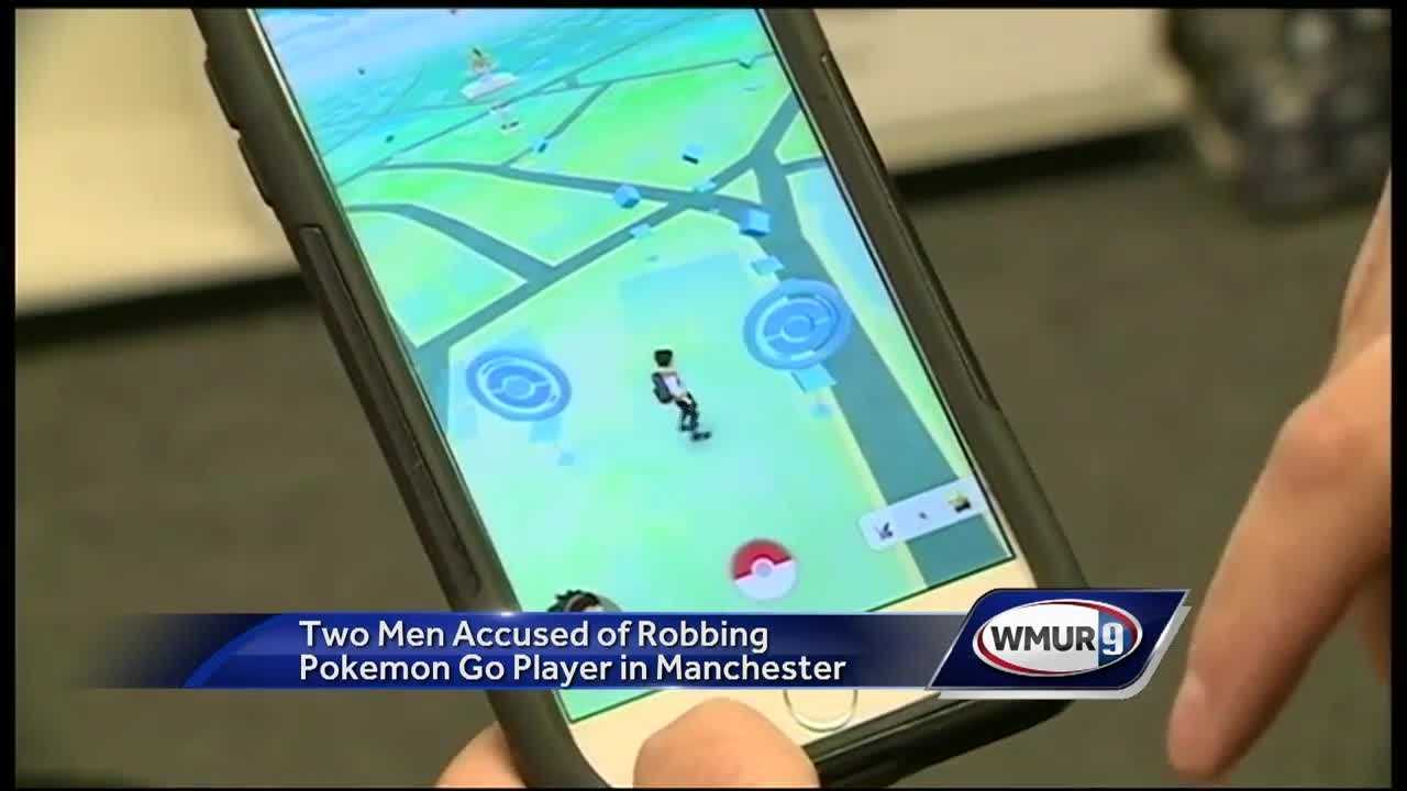 "Two men are facing charges after being accused of robbing a ""Pokemon Go"" player at knifepoint."