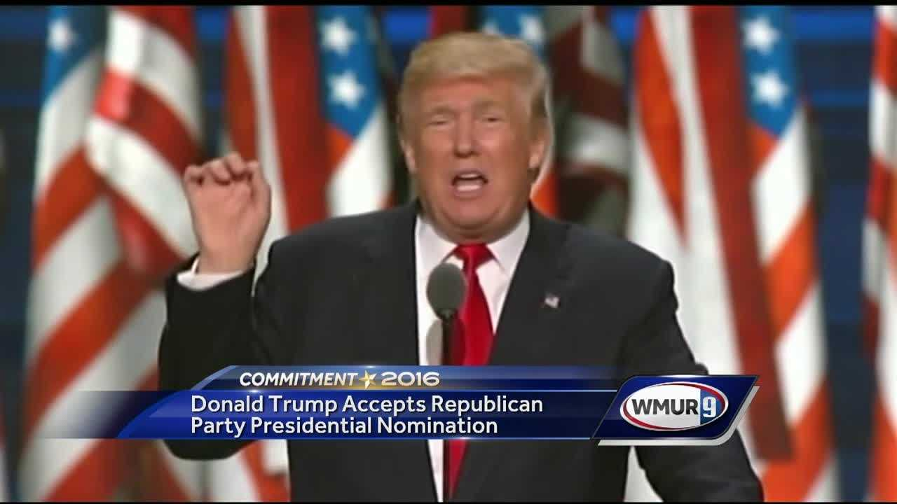 Within the last hour, Donald Trump formally accepted the Republican nomination for president of the United States.