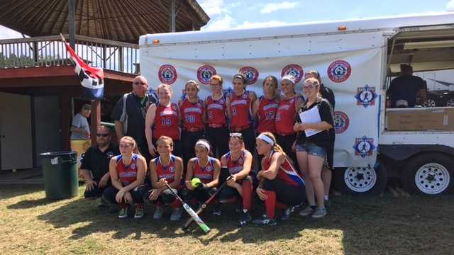 The U16 Charlestown team in the Babe Ruth Softball League went to the World Series in Florida after placing second in a regional tournament in July.