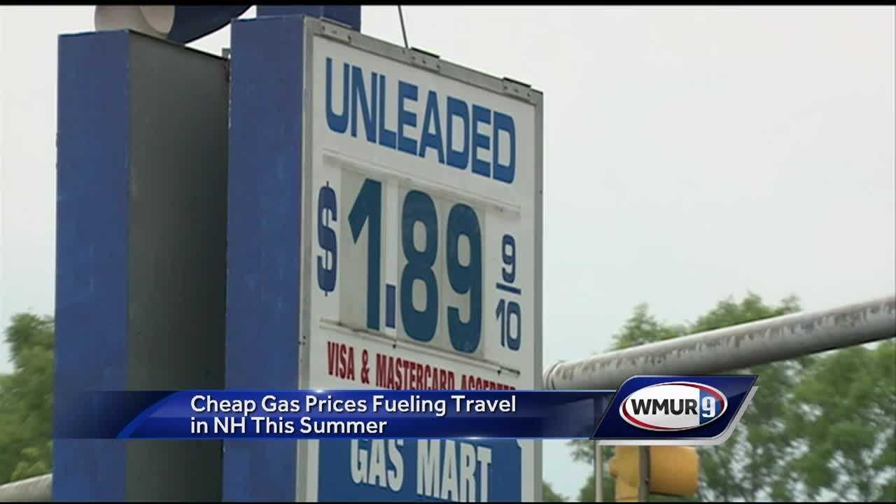 Gas prices are expected to stay low this summer, which means more road trips for some Granite Staters.