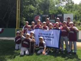 Players on Portsmouth's 9/10 Little League squad are state champions after an undefeated run culminated in a win over Goffstown in July.