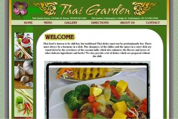 4. Thai Garden in Keene