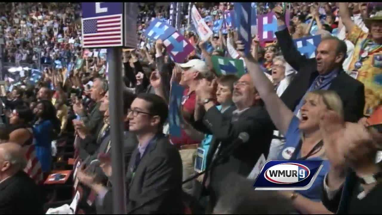 Members of New Hampshire's Democratic delegation are getting ready for the end of the convention Thursday, when Hillary Clinton will accept the party's nomination.