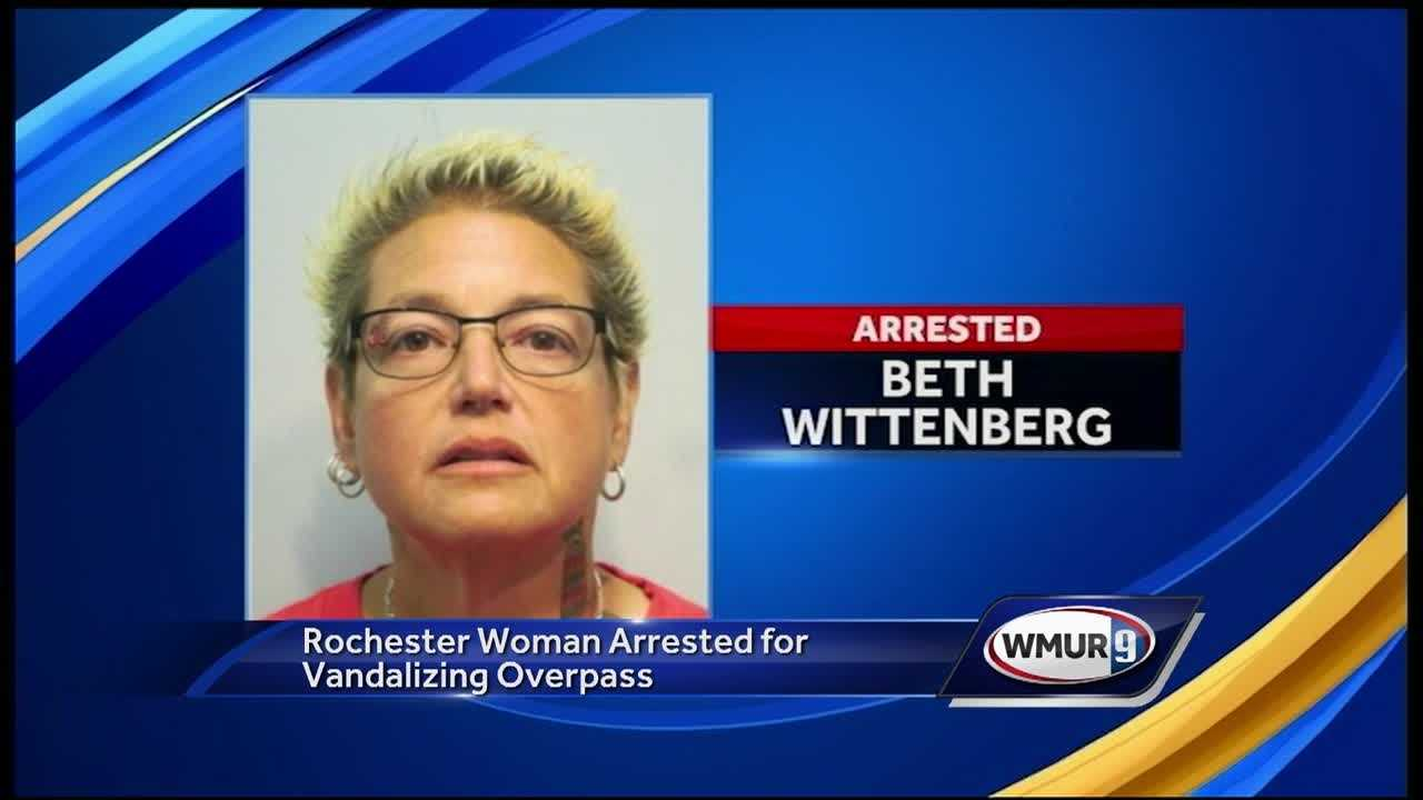Beth Wittenberg is now facing charges, and told News 9 the graffiti was to start a conversation about racism.