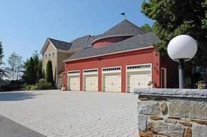 The home has a six-car garage and a helicopter hanger.