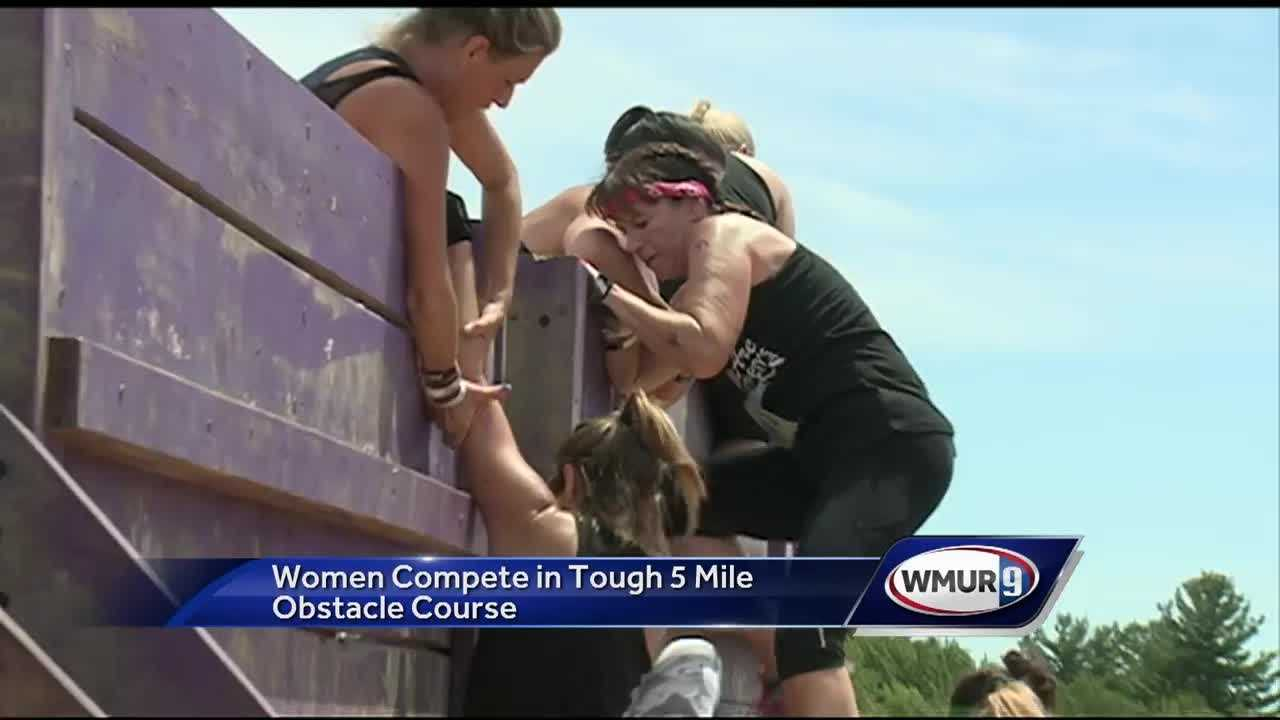 Nearly 5000 women took part in a women focused version of the tough mudder.