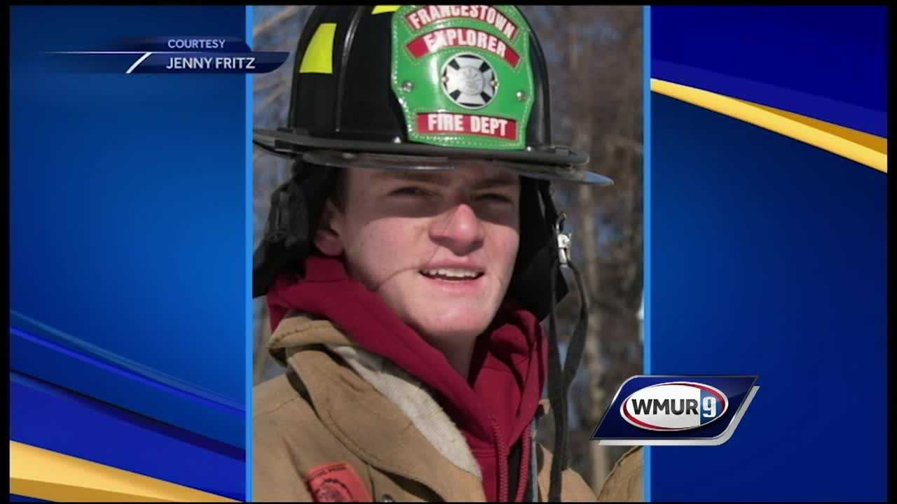 A man who was days away from being voted in as an active member of the Francestown Fire Department died over the weekend after suffering a medical emergency.
