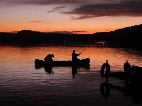 Back Lake in Pittsburg