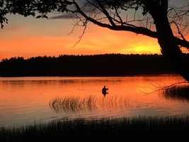 Lake Massabesic in Auburn