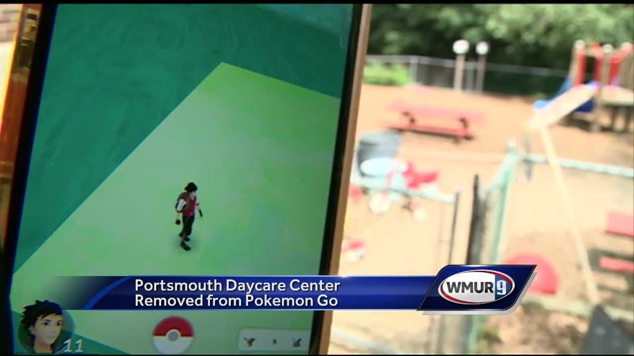 "The ""Pokemon Go"" craze seems to be everywhere, but it's no longer at a Portsmouth day care center."