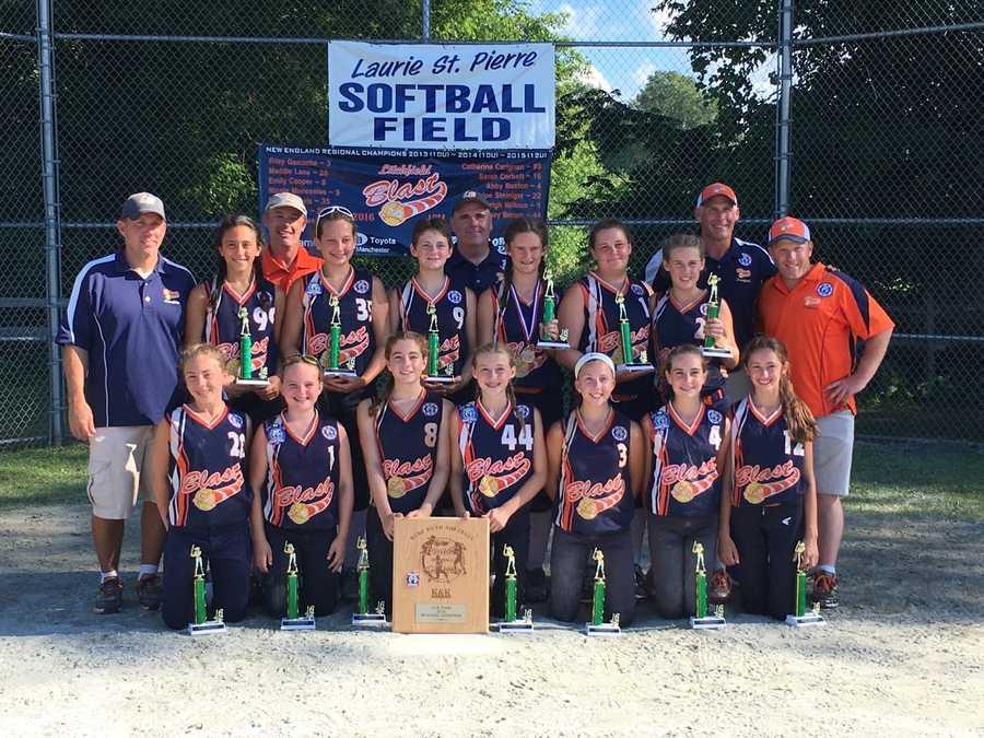 The Litchfield 12U BLAST Softball Team, the New England Regional Champions, will play in the Softball World Series!