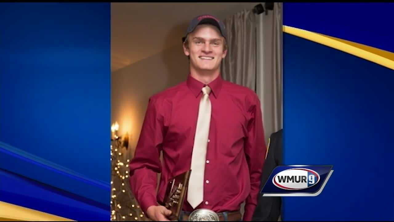 Nearly a thousand people gathered at the Old Meeting House in Francestown to say goodbye to 18-year-old Cole Wohle.