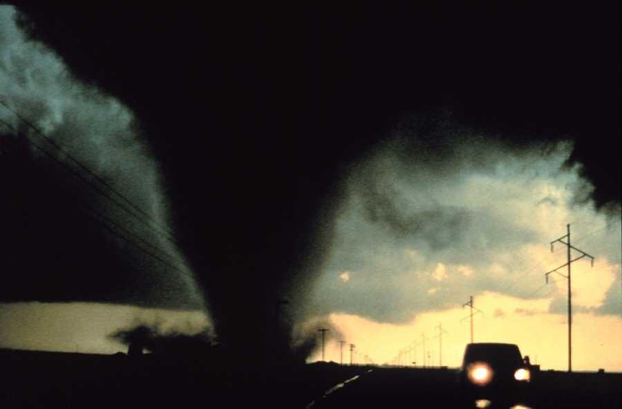 5. Tornadoes/Hurricanes (Lilapsophobia)