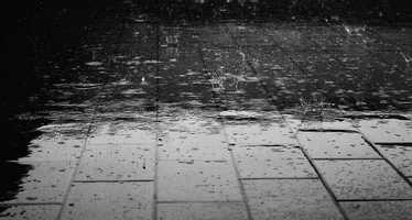 7. Rain (Ombrophobia)