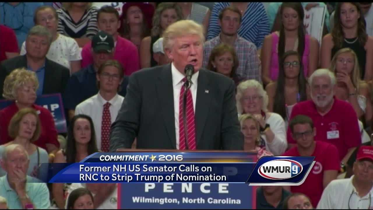 Donald Trump's latest comments are causing controversy again on the campaign trail, with some Republicans now saying he's crossed the line.