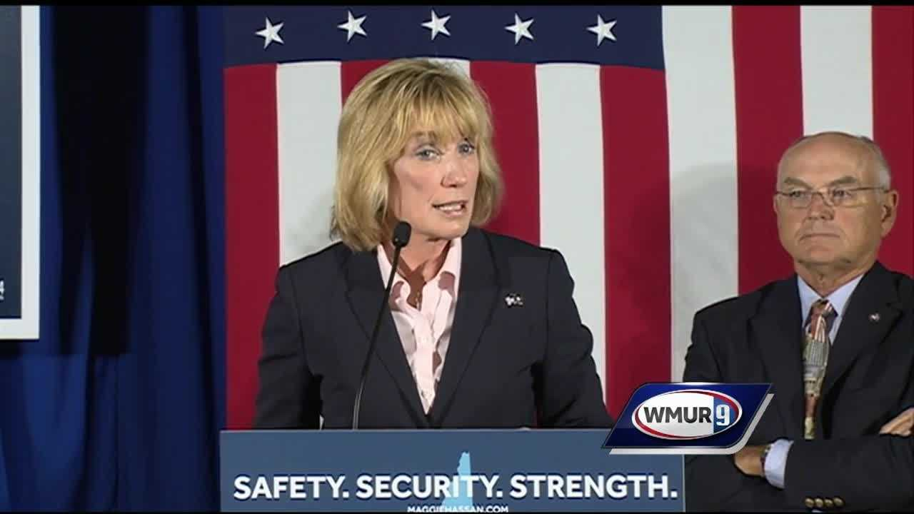 Gov. Maggie Hassan said Wednesday that she's making national security a top priority in her Senate campaign, unveiling a five-pronged plan to keep Americans safe.