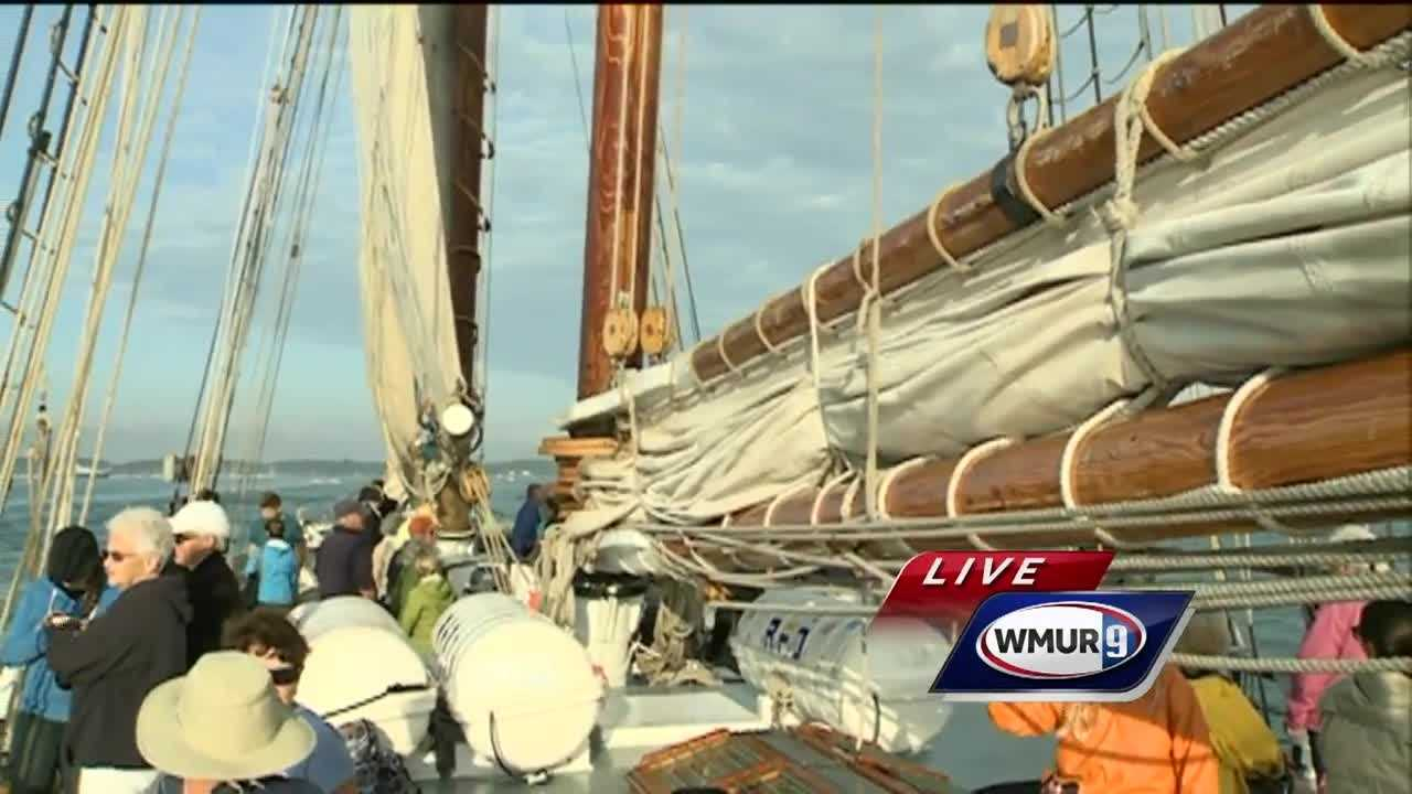 Sail Portsmouth gets underway Wednesday with a special boat parade.