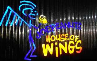 1. Joe Peanut's House of Wings in Keene