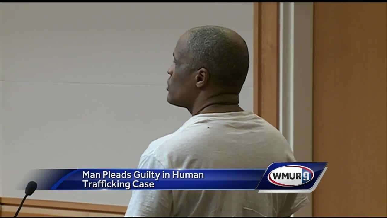 A Manchester man will spend five years in prison after pleading guilty to human trafficking.