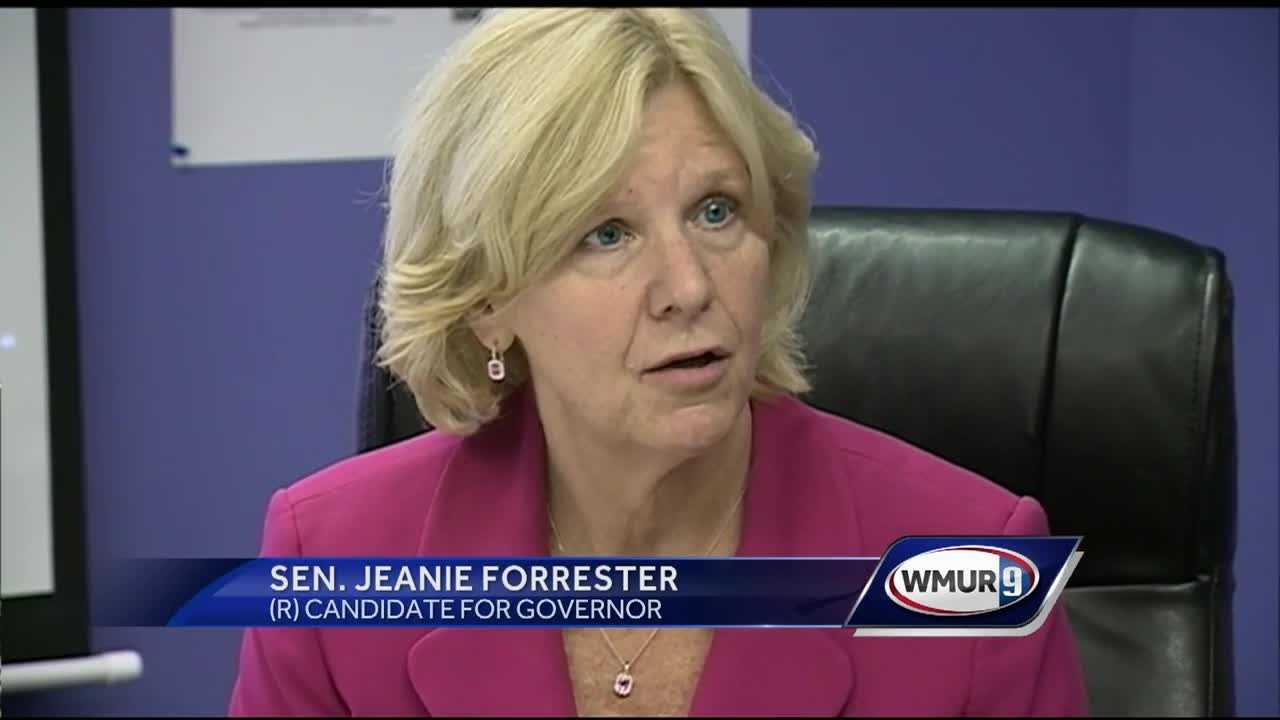 Forrester is the first gubernatorial candidate to introduce a health plan.