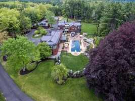 The home sits on 5.6-acre lot at 182 Meetinghouse Road in Bedford. It's on the market for $3,500,000.