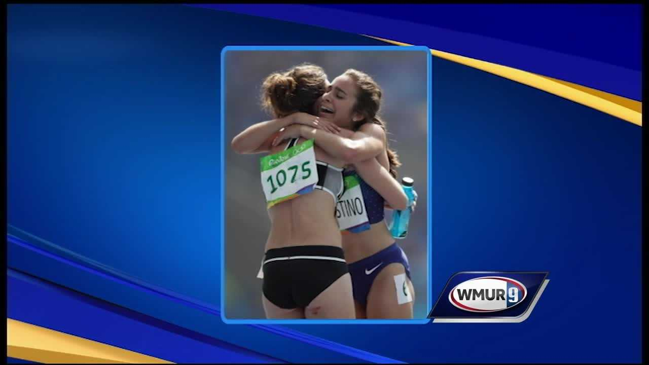 A Dartmouth College graduate was involved in a collision Tuesday while competing at the Rio Olympics.