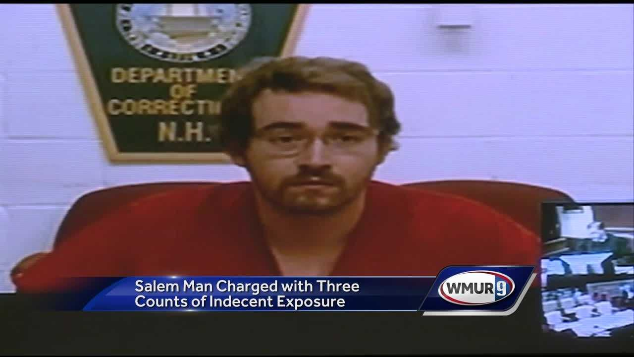 A Salem man accused of exposing himself in public last week has been convicted of the crime before.