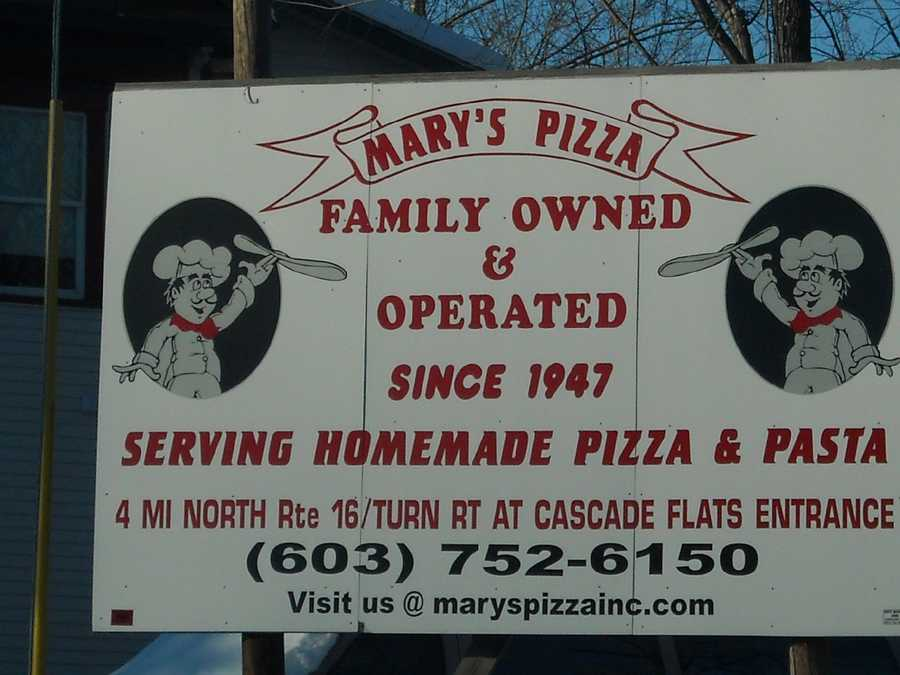 2. Mary's Pizza in Gorham