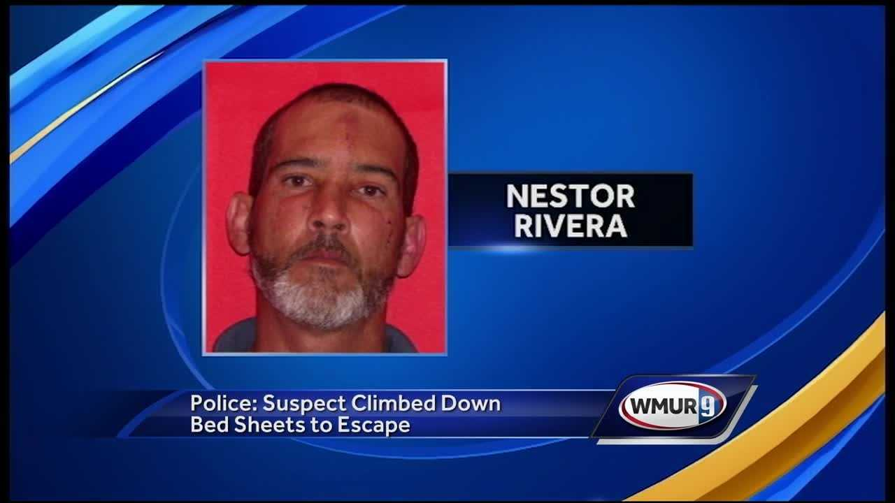 burglary suspect jumps from hotel window to evade police