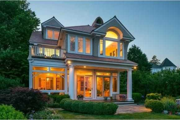 The home on 11 Sea Breeze Lane in Portsmouth is on the market for $3,889,000.
