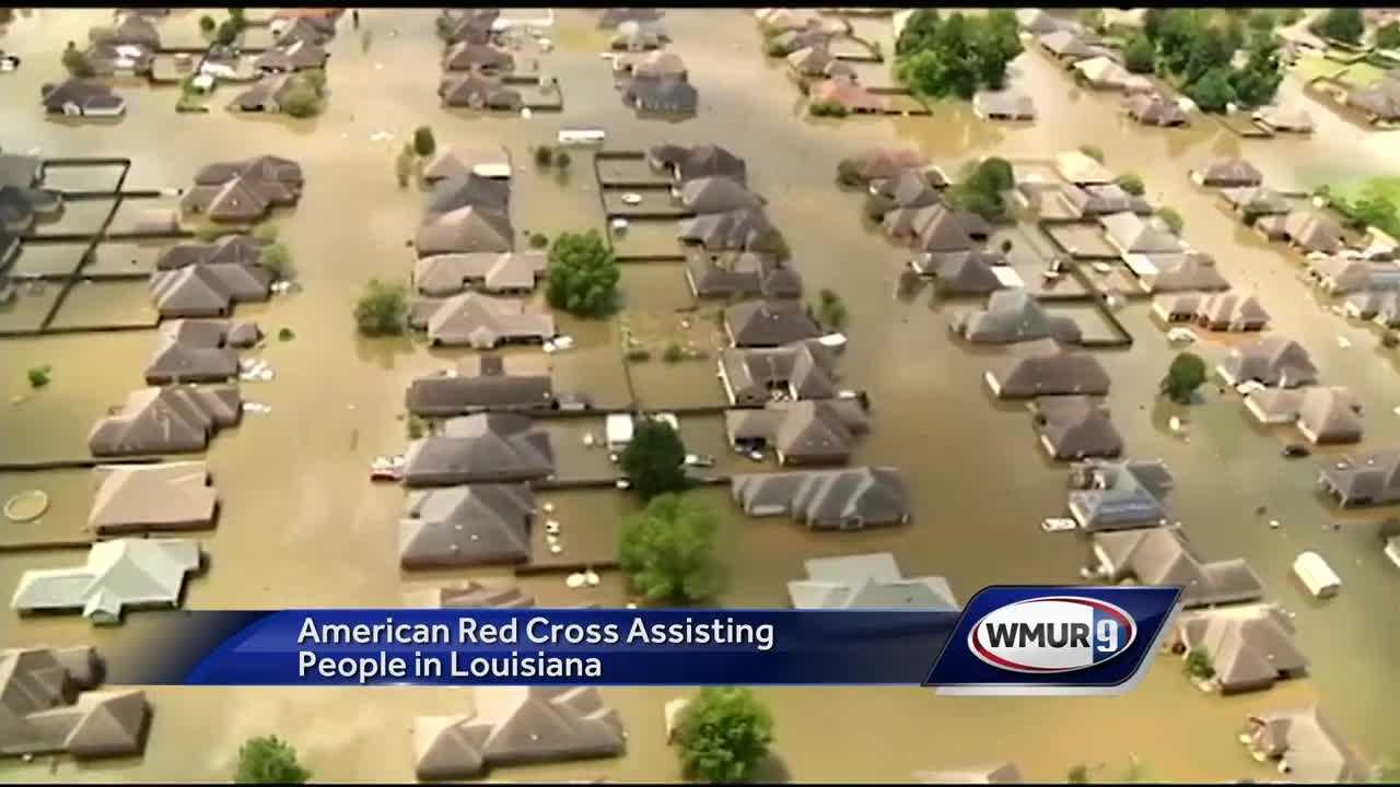 A dozen Red Cross workers from Vermont and New Hampshire will work to support the flood response in Louisiana.