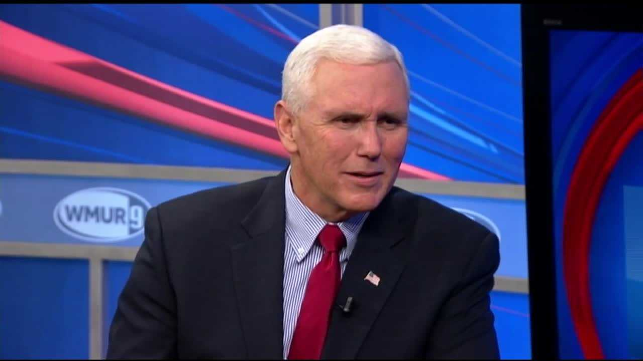 Republican vice presidential candidate Mike Pence sits down with Josh McElveen on CloseUP.