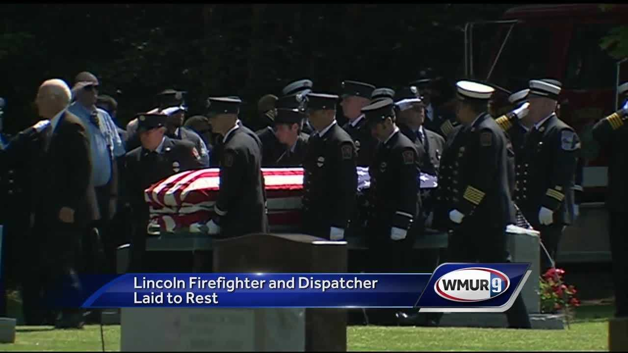 Funeral services were held Wednesday in Lincoln for a fire captain and Grafton County dispatcher who was killed in a car crash.