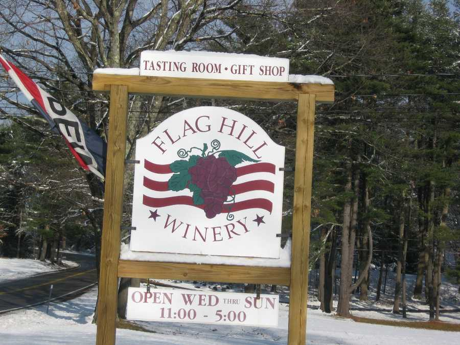 5. Flag Hill Winery in Lee