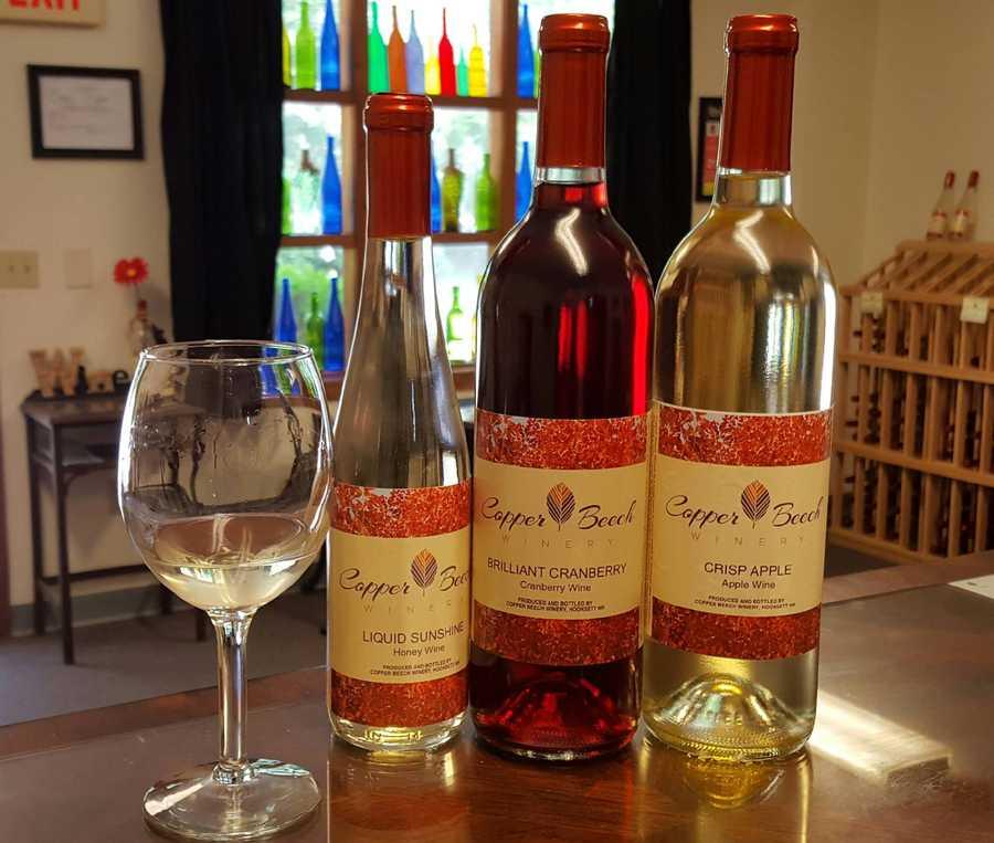 7. Copper Beech Winery in Hooksett