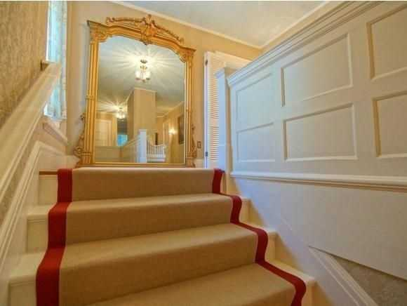Here's a look at an elegant staircase.