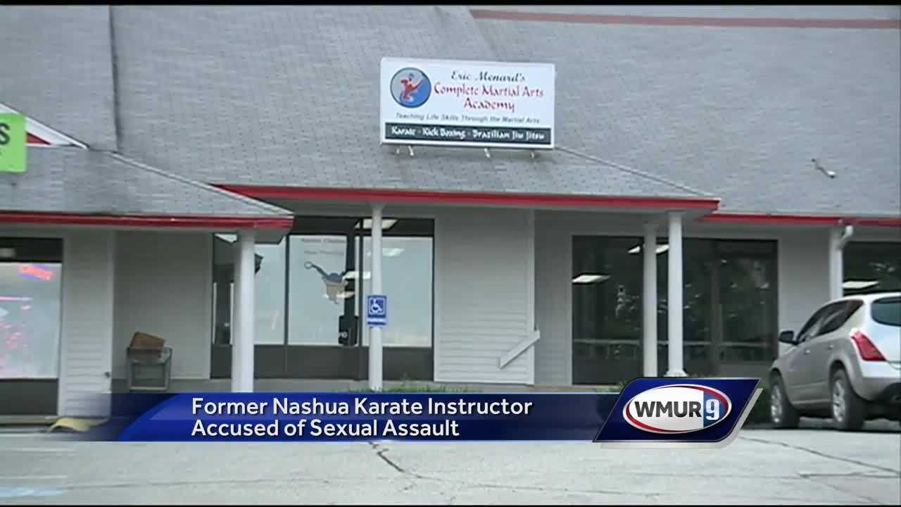 A Karate instructor in Nashua is accused of sexually assaulting a student.