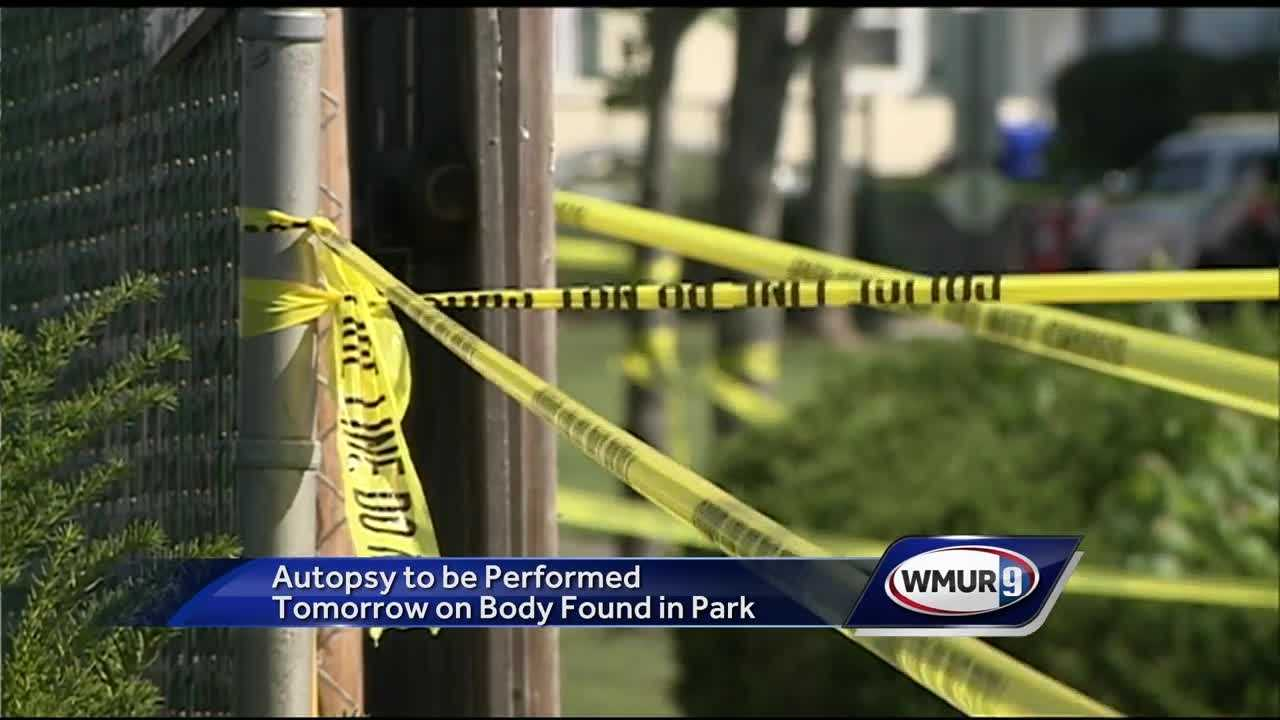 Few details have been released after a man's body was found in a Manchester park early Sunday morning.