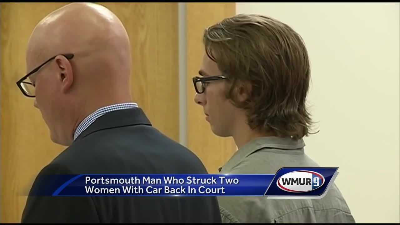 A year after he was sentenced for striking two women with his car on his way to graduation rehearsal, Remi Gross-Santos was back in court Tuesday.