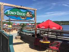 1. Town Docks in Meredith