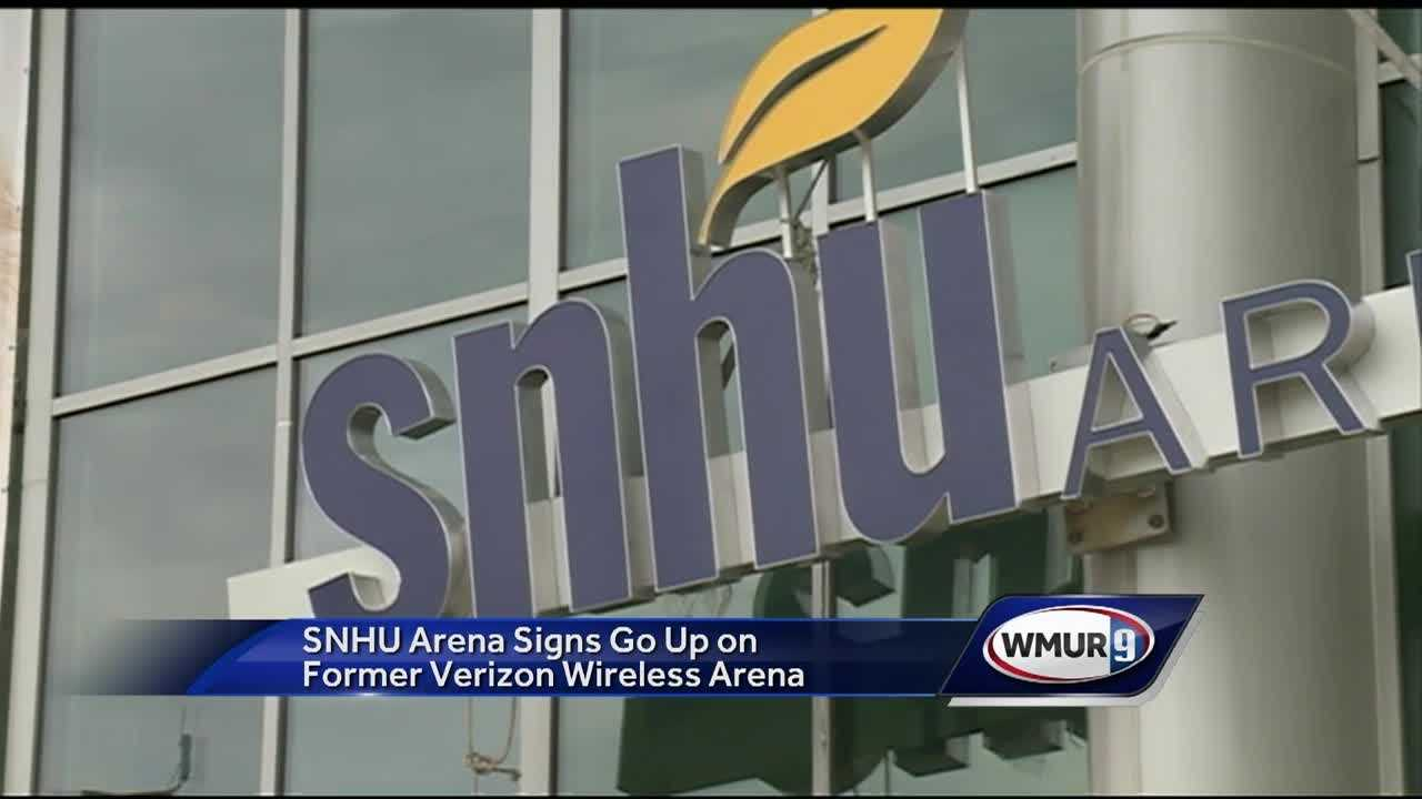 There's a new look and a new name for the venue formerly known as the Verizon Wireless Arena.