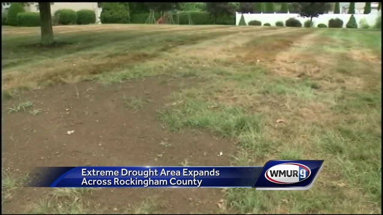 Drought concerns are increasing in New Hampshire, with all of the southeastern part of the state now in extreme drought.