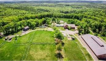 It sits on 287 acres of land.
